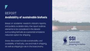 SSI Report: Availability of Sustainable Biofuels